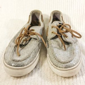 🔥HOT BUY🔥 SPERRY Top Sider Sequin Boat Shoes